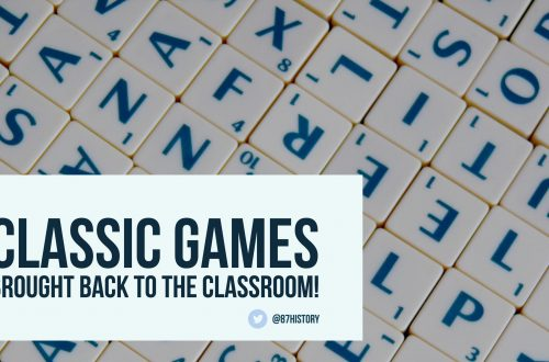 Classic games brought back to the classroom!