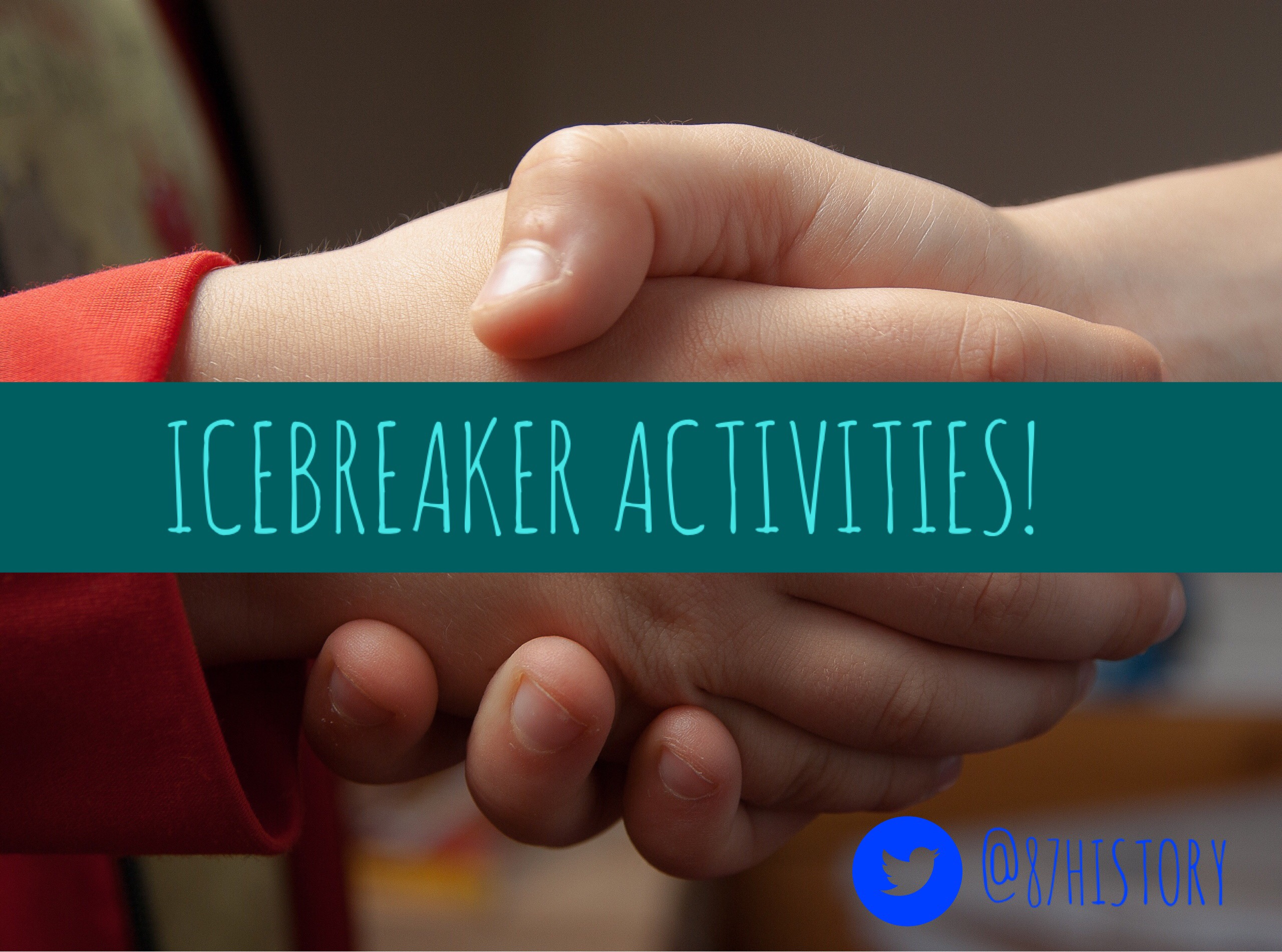 Back to school – Ice breaker activities!