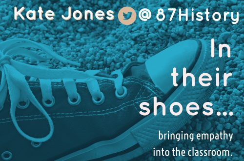 In their shoes…bringing empathy to the classroom.