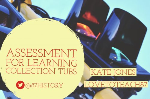 Assessment for Learning collection tubs