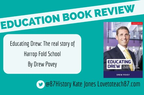Book review – Educating Drew: The real story of Harrop Fold School by Drew Povey