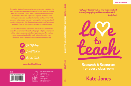 My book! #LoveToTeach