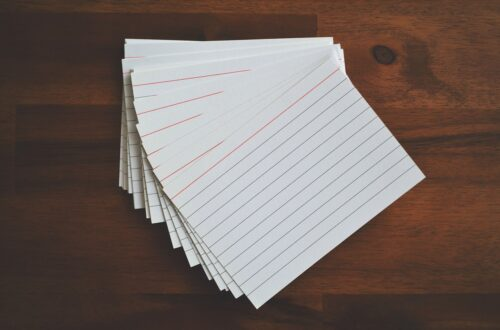 Flash cards as an effective study strategy …