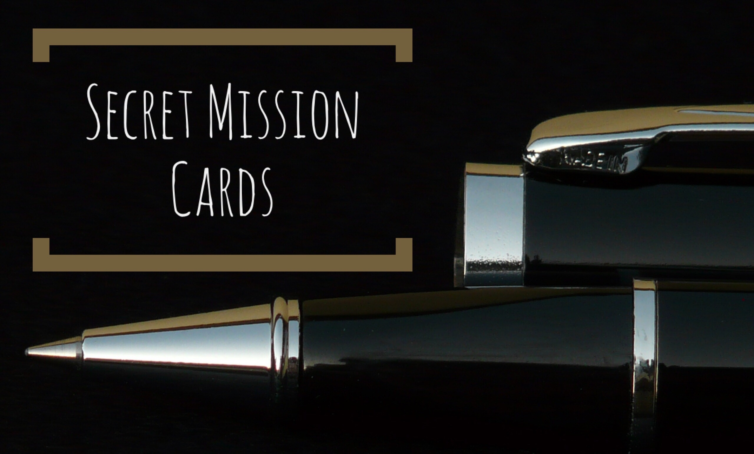 Secret Mission Cards