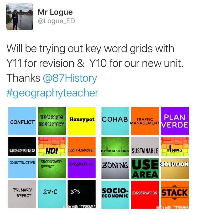 Keyword Grids For Learning Love To Teach
