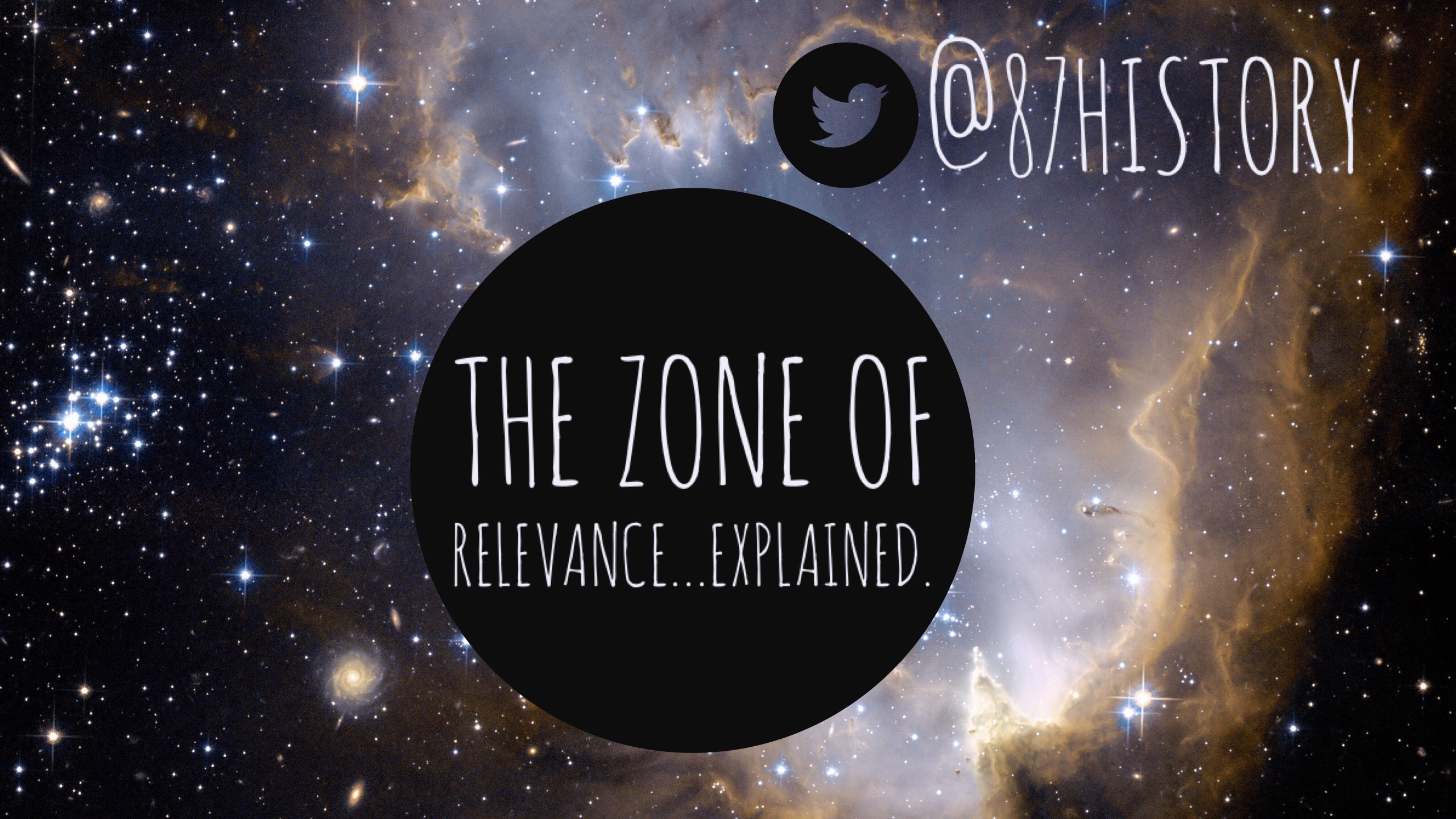 The Zone of Relevance…explained.