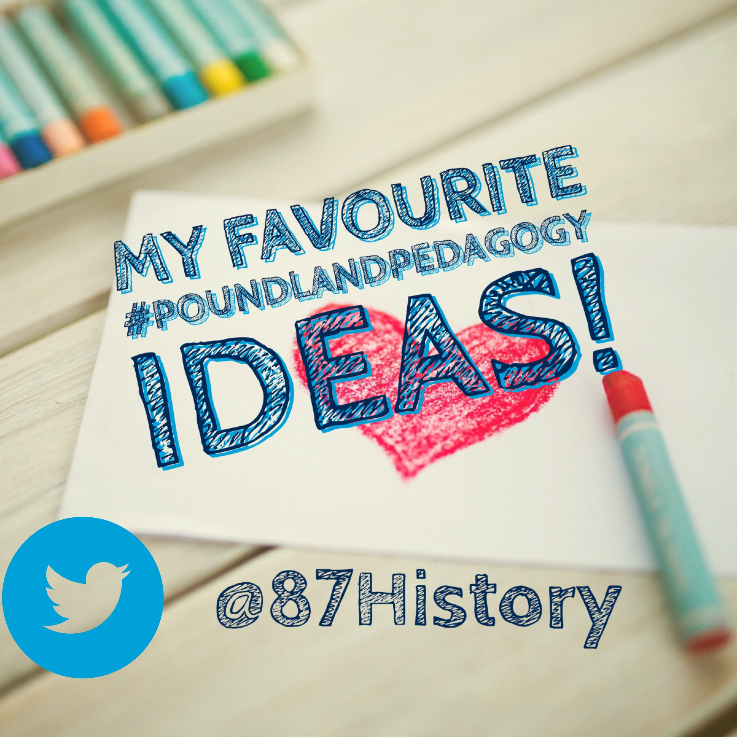 My favourite #Poundland Pedagogy ideas!