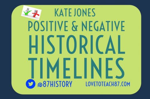 Positive and Negative Historical Timelines