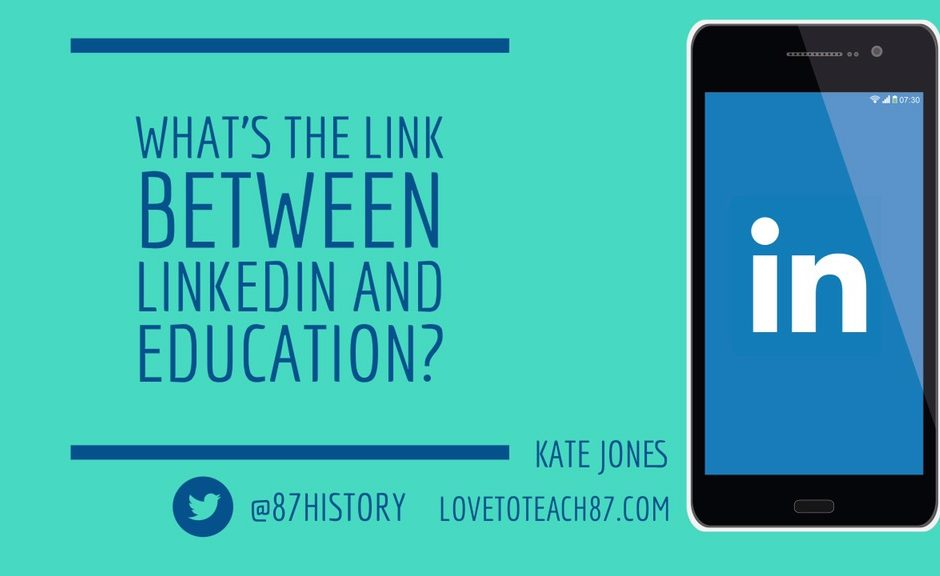 What's the link between LinkedIn and education?