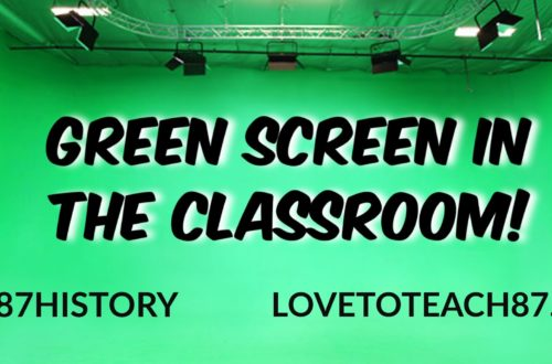 Using Green Screen in the classroom!