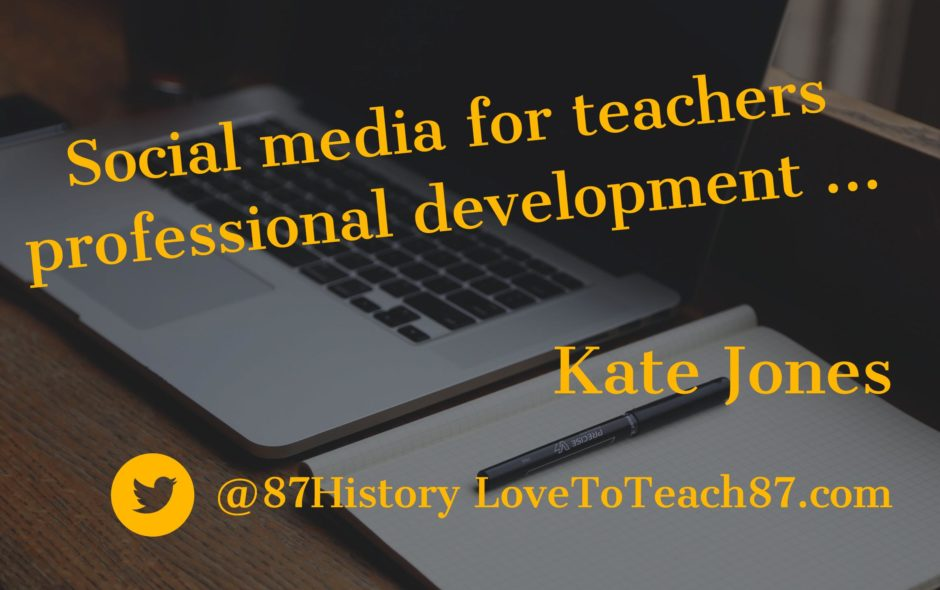 Social media for teachers professional development