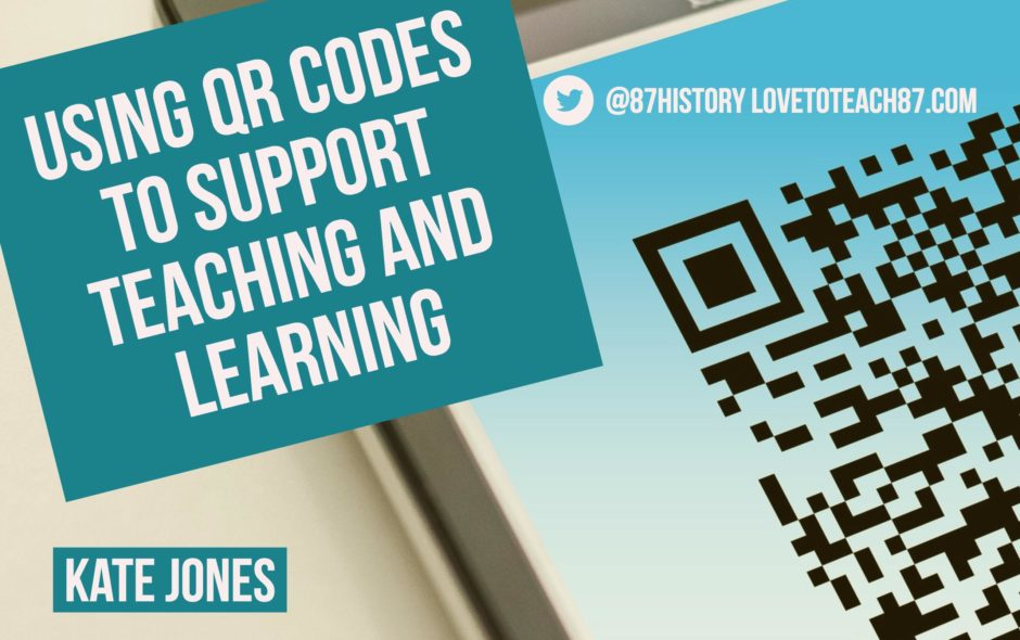Using QR codes to support Teaching and Learning