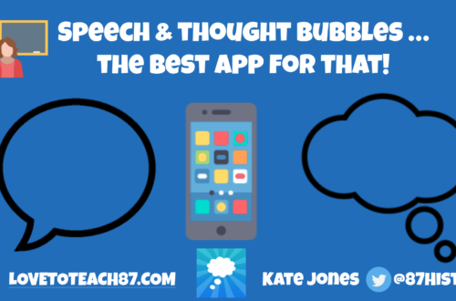 Speech & thought bubbles …the best app for that!