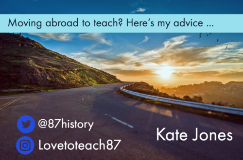 About to move abroad to teach? Here's my advice …